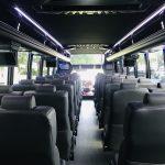 Freightliner M2 39 passenger charter shuttle coach bus for sale - Diesel 10