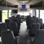 GMC 5500 29 passenger charter shuttle coach bus for sale - Diesel 11