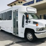 GMC 5500 29 passenger charter shuttle coach bus for sale - Diesel 1