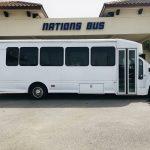 GMC 5500 29 passenger charter shuttle coach bus for sale - Diesel 2