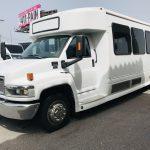 GMC 5500 29 passenger charter shuttle coach bus for sale - Diesel 8