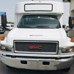 GMC 5500 29 passenger charter shuttle coach bus for sale - Diesel 9