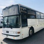 Van Hool 52 passenger charter shuttle coach bus for sale - Gas 5