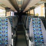 Van Hool 52 passenger charter shuttle coach bus for sale - Gas 6