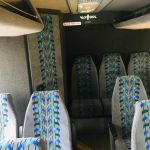 Van Hool 52 passenger charter shuttle coach bus for sale - Gas 7