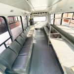 Chevy C5500 18 passenger charter shuttle coach bus for sale - Propane 3