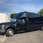Ford E550 26 passenger charter shuttle coach bus for sale - Diesel 5