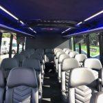Ford E550 26 passenger charter shuttle coach bus for sale - Diesel 7