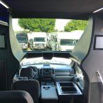 Ford E550 26 passenger charter shuttle coach bus for sale - Diesel 9
