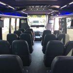 Ford E550 26 passenger charter shuttle coach bus for sale - Diesel 8