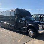 Ford E550 26 passenger charter shuttle coach bus for sale - Diesel 1
