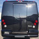 Ford E550 26 passenger charter shuttle coach bus for sale - Diesel 4