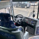 Van Hool 57 passenger charter shuttle coach bus for sale - Diesel 8