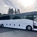 Van Hool 57 passenger charter shuttle coach bus for sale - Diesel 1