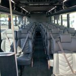 Freightliner M2 33 passenger charter shuttle coach bus for sale - Diesel 5