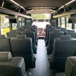 Freightliner M2 33 passenger charter shuttle coach bus for sale - Diesel 6