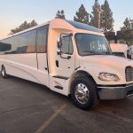 Freightliner M2 38 passenger charter shuttle coach bus for sale - Diesel 1