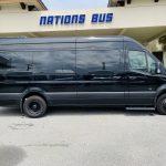 Mercedes 3500 13 passenger charter shuttle coach bus for sale - Diesel 2