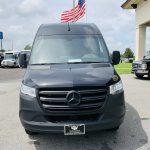 Mercedes 3500 13 passenger charter shuttle coach bus for sale - Diesel 8