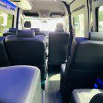 Mercedes 3500 13 passenger charter shuttle coach bus for sale - Diesel 12