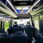 Mercedes 3500 13 passenger charter shuttle coach bus for sale - Diesel 13