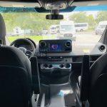 Mercedes 3500 13 passenger charter shuttle coach bus for sale - Diesel 17