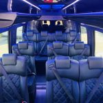 Mercedes 3500 13 passenger charter shuttle coach bus for sale - Diesel 5