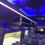 Mercedes 3500 13 passenger charter shuttle coach bus for sale - Diesel 6