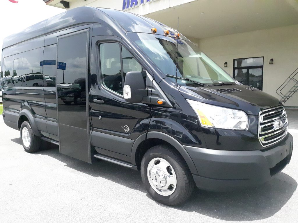 Ford 13 passenger charter shuttle coach bus for sale - Gas