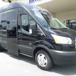 Ford 13 passenger charter shuttle coach bus for sale - Gas 1