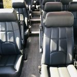 Mercedes 3500 14 passenger charter shuttle coach bus for sale - Diesel 10
