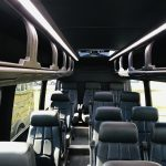 Mercedes 3500 14 passenger charter shuttle coach bus for sale - Diesel 12