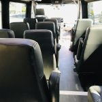 Mercedes 3500 14 passenger charter shuttle coach bus for sale - Diesel 13
