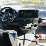 Mercedes 3500 14 passenger charter shuttle coach bus for sale - Diesel 16