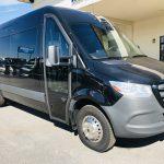 Mercedes 3500 14 passenger charter shuttle coach bus for sale - Diesel 1