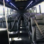 Freightliner M2 38 passenger charter shuttle coach bus for sale - Diesel 9