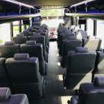 Freightliner M2 38 passenger charter shuttle coach bus for sale - Diesel 10