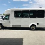 Ford E450 16 passenger charter shuttle coach bus for sale - Gas 7