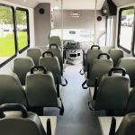 Ford E450 16 passenger charter shuttle coach bus for sale - Gas 11