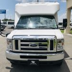 Ford E350 14 passenger charter shuttle coach bus for sale - Gas 8