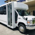 E-450 25 passenger charter shuttle coach bus for sale - Gas 1
