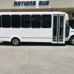 E-450 25 passenger charter shuttle coach bus for sale - Gas 2