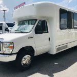 E-450 25 passenger charter shuttle coach bus for sale - Gas 8