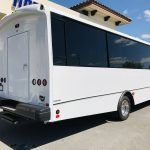 Ford F550 33 passenger charter shuttle coach bus for sale - Gas 3
