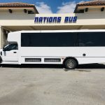 Ford F550 33 passenger charter shuttle coach bus for sale - Gas 7
