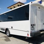 Ford F550 33 passenger charter shuttle coach bus for sale - Gas 8