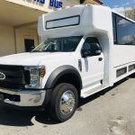 Ford F550 33 passenger charter shuttle coach bus for sale - Gas 9