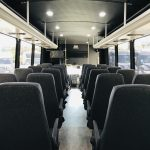 Ford F550 33 passenger charter shuttle coach bus for sale - Gas 14