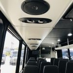 Ford F550 33 passenger charter shuttle coach bus for sale - Gas 15