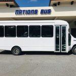 Ford E450 25 passenger charter shuttle coach bus for sale - Gas 2